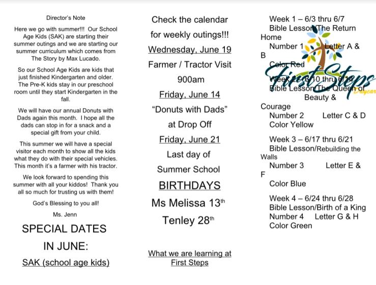 June Newsletter 1